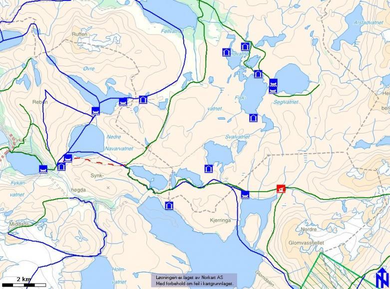 glomfjellet kart Glomfjord jeger og fisk glomfjellet kart